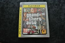 Grand Theft Auto 4 Playstation 3 PS3 Platinum