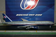 JC Wings 1:200 United Airlines Boeing 777-200 N777UA (XX2958) Die-Cast Model