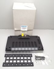 NEW FESTO CPV18-GE-FB-8 SOLENOID COIL DISTRIBUTION PLATE