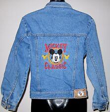 Kids Sz 12 14 Mickey and Co Disney Blue Jean Jacket American Character Classics