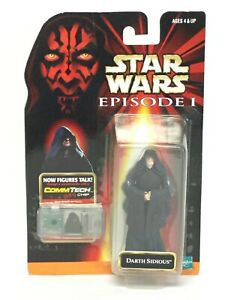 Hasbro Star Wars Episode 1 Darth Sidious Action Figure Sealed