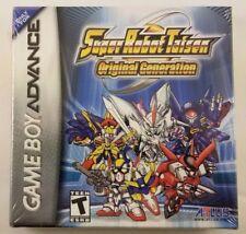 Super Robot Taien 2 Original Generation Gameboy Advance *Brand New/Sealed*