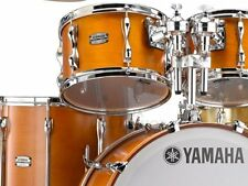 "Yamaha RECORDING CUSTOM 4-pc. Drum ShellSet, REAL WOOD w/ 20"" Lifted Bass - NEW!"
