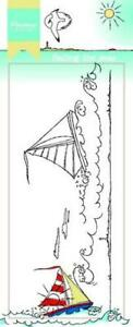 Marianne Design Clear Stamps - Hetty's Border - Sailing The Seas - HT1623 - Boat