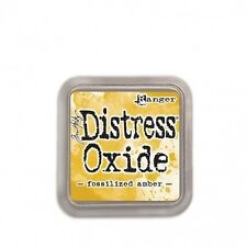 Distress Oxide Ink-pad Stempelkissen Ranger Tim Holtz fossilizid amber TDO55983