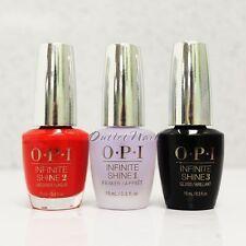 OPI Infinite Shine Set: CHOOSE 1 Color + Prime Base + Gloss Top Coat 0.5 oz Kit