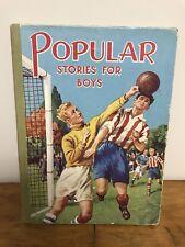 POPULAR STORIES FOR BOYS vintage illustrated British HC