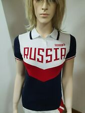 "Bosco Sport ""RUSSIA 2018"" FIFa World cup Olympic TEAM, -Damen Polo- weiß/rot"
