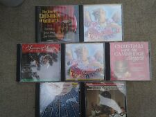 7WW11 SET OF ASSORTED CHRISTMAS CD ALBUMS, GOOD CONDITION