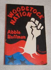Woodstock Nation by Abbie Hoffman, A Talk-Rock Album (1969)