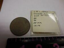 RARE J. B. CURRY GENERAL MERCHANT 1 DOLLAR  TOKEN-- MT. VERNON  ,ALA.