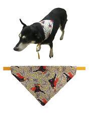 Mighty Thor Handmade Washable Cotton Fabric (Over the Collar) Dog Bandana Scarf