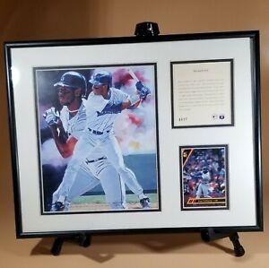 Ken Griffey Jr '93 11X14 Framed Lithograph & Baseball Card Seattle Mariner #4917