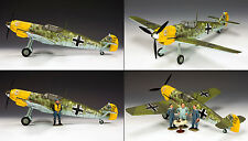 "LW044 Werner Molder's Messerschmitt Bf109 ""Emil"" LE500 by King and Country"