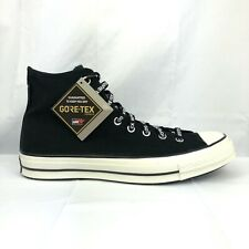 Converse Chuck 70 Hi GORETEX WaterProof Black High Top 163343c Women's Size 6.5