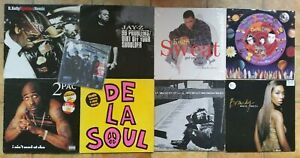 "Hip Hop Vinyl 12"" collection."