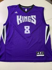 Sacramento Kings NBA Basketball Adidas Jersey Signed By Ruby Gay Mens XL New