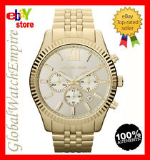 *NEW* Michael Kors Mens Lexington Chronograph Champagne watch - MK8281 -RRP 275$
