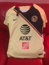 Nike Club America Authentic Jersey Soccer Team Womens Nwt Size S