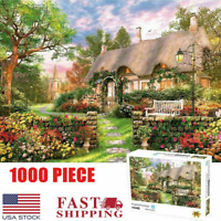 1000Pieces Jigsaw Puzzles British Cottage Adult Kid Educational Game Toy Gift US