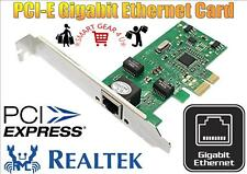 PCI-E 10/100/1000 Mbps Gigabit Ethernet Lan Card RealTek RTL811E PCI Express UK