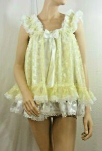 sissy dress ADULT baby ddlg  babydoll negligee nightie fancy dress cosplay