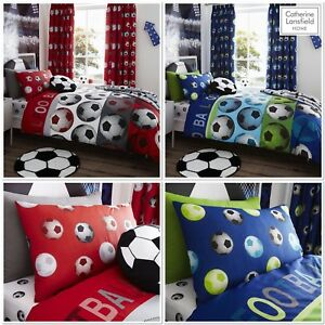 Catherine Lansfield Children's/Boys Football Quilt/Duvet Bedding Range !!!!