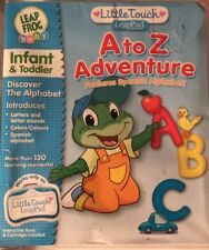 Little Touch LeapPad Leap Frog Baby A to Z Adventure Discover The Alphabet