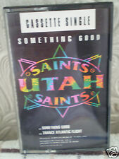 UTAH SAINTS - SOMETHING GOOD/ TRANCE ATLANTIC FLIGHT [CASSETTE SINGLE] - NEW