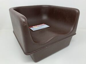 Cambro Single Height 100BC - Brown Booster Seat - Pre-owned Made USA