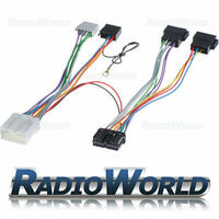 Mitsubishi L200 Lancer Pajero Handsfree Bluetooth Parrot Adaptor ISO SOT Lead