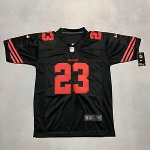 Reggie Bush #23 SAN FRANCISCO 49ERS NWT Black Nike On Field NFL Jersey