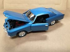 1:24 1970 Chevy Monte Carlo SS454 Blue by Saico without box
