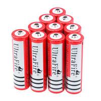 10X Ultrafire 18650 3000mAh 3.7V Li-ion Rechargeable Battery Cell Flashlight US