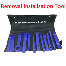 11 Pcs Blue Nylon Car Interior Panel Audio Stereo GPS Removal Tool Pry Open Kits