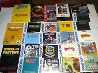 Lot Of 50 For Nintendo Super Nintendo Sega Genesis Game Boy Manuals