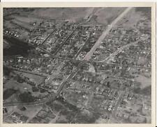1950's NEW HAVEN  CONN ANNEX  8 X 10 AERIAL PHOTO, FORBES, TOWNSHEND, WOODWARD