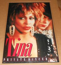 Tina Turner Private Dancer Poster Vintage Original 1984 Promo 36x24