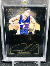 15-16 Panini Black Gold Jordan Clarkson On Card Auto SP /99 Lakers Cavaliers