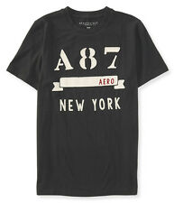 74% OFF! AUTH AEROPOSTALE MEN'S A87 BANNER LOGO GRAPHIC TEE MEDIUM BNEW US$24.50