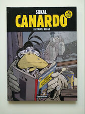 RE 2012 (très bel état) - Canardo 15 (l'affaire belge) - Sokal - Casterman