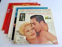 Lot Of 5 Soundtrack Oldies LP Wholesale Eddy Duchin Music Man Vinyl Record