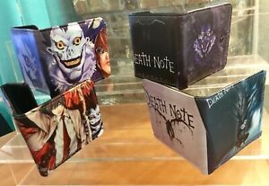 Anime Death Note faux Leather Wallet Card  Man Woman