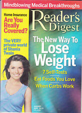 Magazine Reader's Digest January 2005 Shania Twain New Way to Lose Weight 01