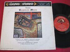 RARE LP- VICTORIA REQUIEM MASS - NICHOLSON/ZIMMERMAN- RCA LSC-2254 LIVING STEREO