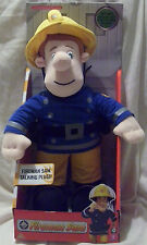 "Fireman Sam 12"" Talking Plush Soft Toy ~ Inc Phrases & Theme Song"