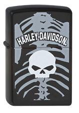 Zippo Harley-Davidson Calavera con cráneo Colección 2010