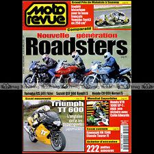 MOTO REVUE N°3419 TRIUMPH TT 600 YAMAHA FZS FAZER HONDA CB HORNET GP SEPANG 2000