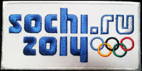 SOCHI Winter Olympic Games  2014 logo Sochi Russia Olympic PATCH