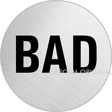 "OFFORM Türschild l Schild l ""Bad / Badezimmer"" l Ø 75 mm l Nr. 8484"